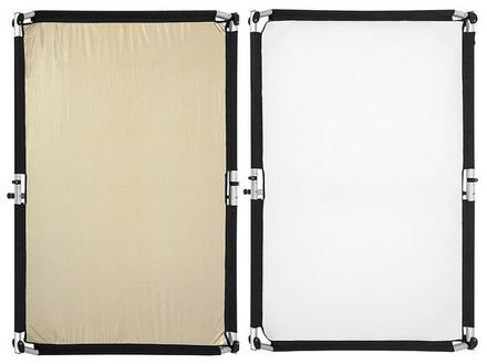 Fomei Quick Clap II - návlek na odraznou desku zlatostříbrný/bílý