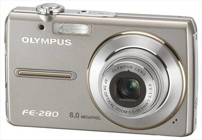 Olympus FE-280 stříbrný