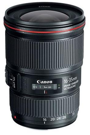 Canon EF 16-35 mm f/4,0 L IS USM