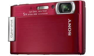 Sony DSC-T200 červený
