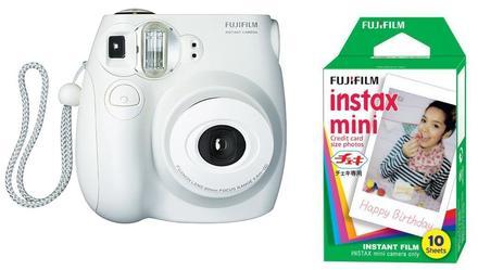 Fujifilm Instax Mini 7S instant camera bílý + 2x film na 10x foto