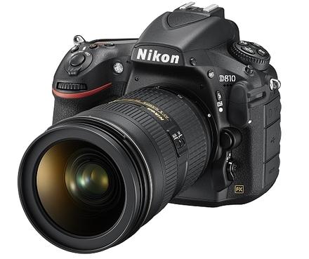 Nikon D810 + 24-120 mm VR