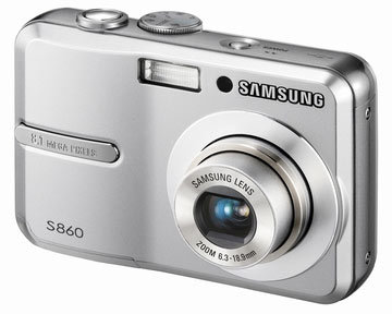Samsung S860 stříbrný