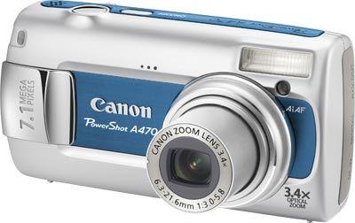 Canon PowerShot A470 modrý