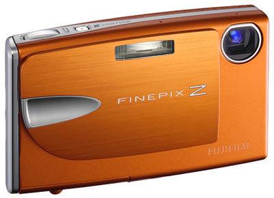 Fuji FinePix Z20fd oranžový