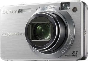 Sony DSC-W150 stříbrný