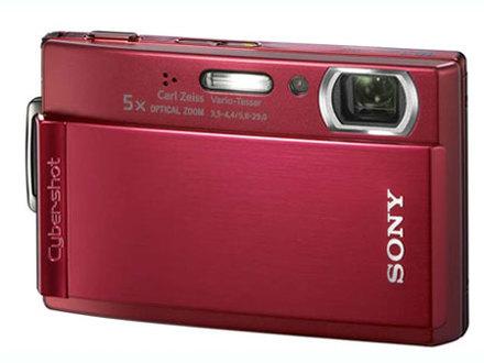 Sony DSC-T300 červený