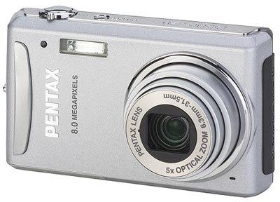 Pentax Optio V20 stříbrný