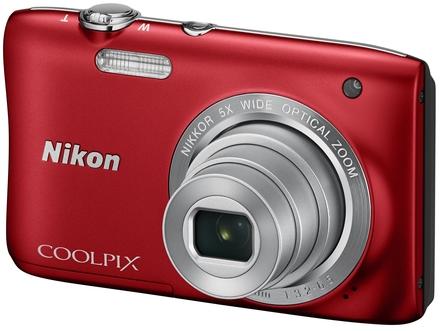 Nikon Coolpix S2900 červený + 4GB karta + originální pouzdro zdarma!