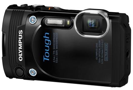 Olympus TG-860 černý + 8GB karta + neoprenové pouzdro + plovoucí poutko!