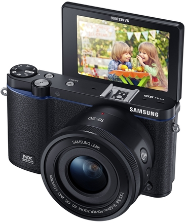 Samsung NX3300 + 16-50 mm III OIS PowerZoom