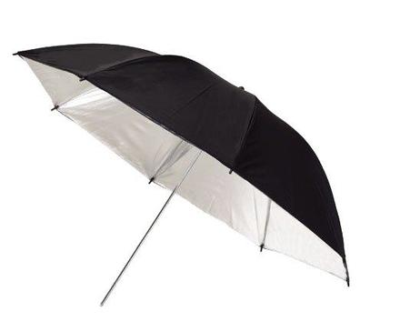 Aputure stříbrný deštník 110cm