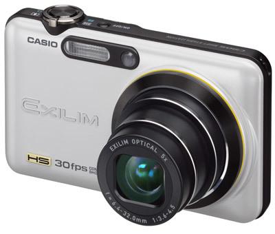 Casio EXILIM FC100 bílý