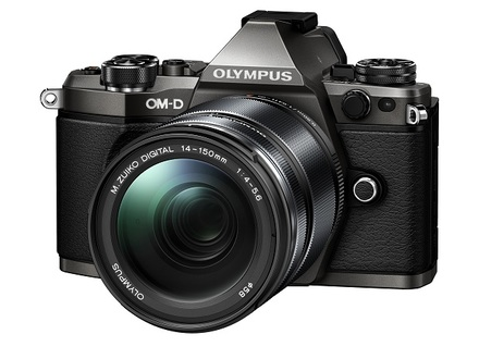 Olympus OM-D E-M5 Mark II + 14-150 mm II Titanium Limited Edition