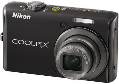 Nikon CoolPix S620 černý