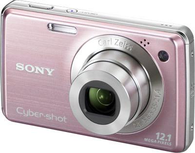 Sony CyberShot DSC-W210 růžový