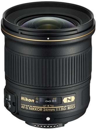 Nikon 24mm f/1,8 G ED