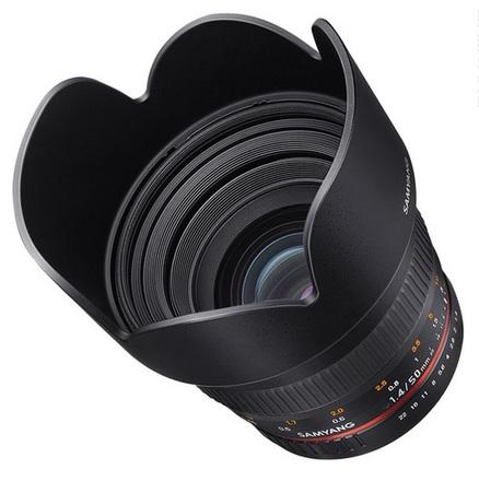 Samyang 50mm f/1,4 pro Canon