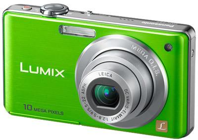 Panasonic Lumix DMC-FS7 zelený