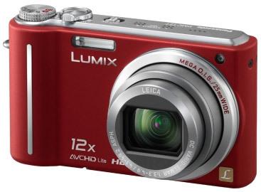 Panasonic Lumix DMC-TZ7 červený