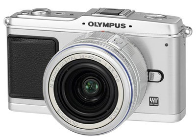 Olympus E-P1 stříbrný + 14-42 mm stříbrný