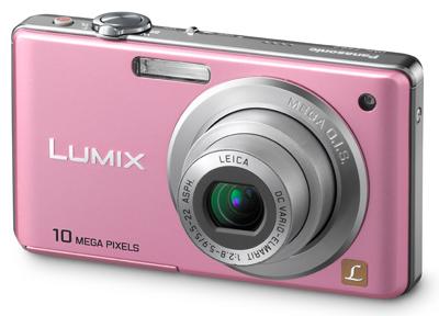 Panasonic Lumix DMC-FS62 růžový