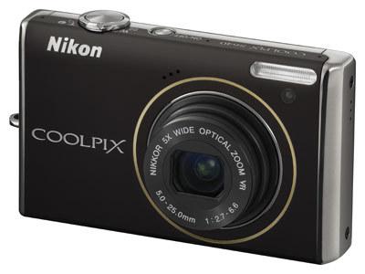 Nikon CoolPix S640 černý