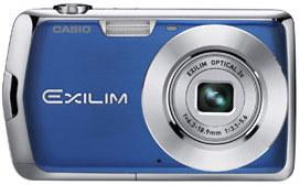 Casio EXILIM Z2 modrý