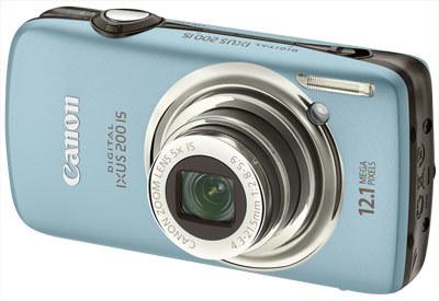 Canon IXUS 200 IS modrý