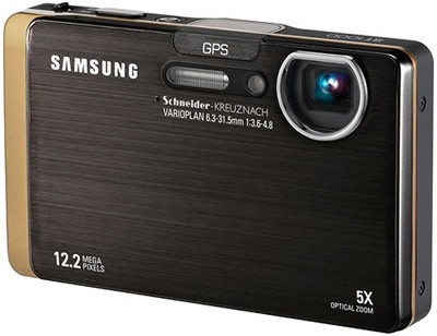 Samsung ST1000 zlatý