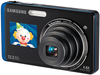 Samsung ST500 modrý