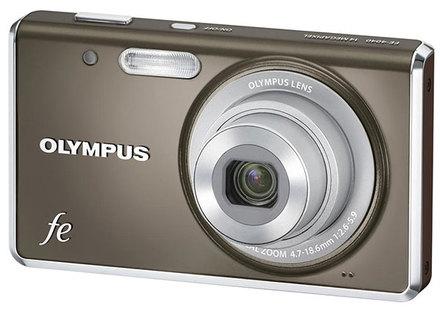 Olympus FE-4040 šedý