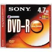 Sony DVD-R 4,7GB 1ks