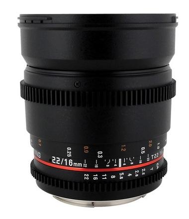 Samyang CINE 16mm T/2,2 VDSLR pro Fujifilm X