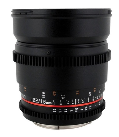 Samyang 16mm T/2,2 VDSLR pro micro 4/3