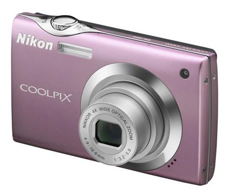 Nikon Coolpix S4000 růžový