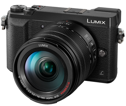 Panasonic Lumix DMC-GX80 + 14-140 mm stříbrný černý