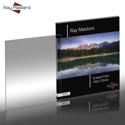 Ray Masters 150x170mm ND 2 filtr jemný