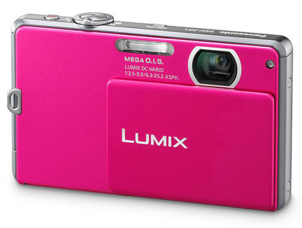 Panasonic Lumix DMC-FP1 růžový