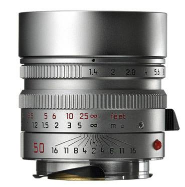 Leica 50mm f/1,4 ASPH SUMMILUX-M stříbrný