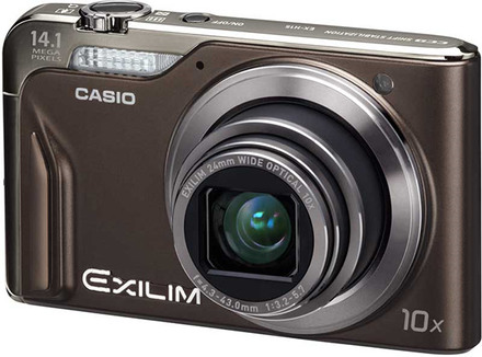 Casio EXILIM H15 hnědý
