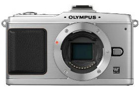 Olympus E-P2 stříbrný tělo