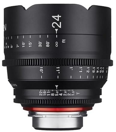 Samyang XEEN CINE 24mm T/1,5 pro Sony E