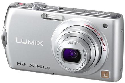 Panasonic Lumix DMC-FX70 stříbrný