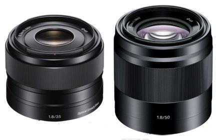 Sony 35mm f/1,8 OSS SEL + 50mm f/1,8 SEL!