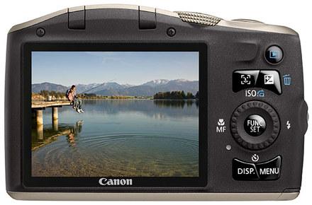Canon PowerShot SX130 IS černý + 4GB karta + pouzdro Sorento 70M!