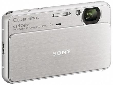Sony CyberShot DSC-T99 stříbrný