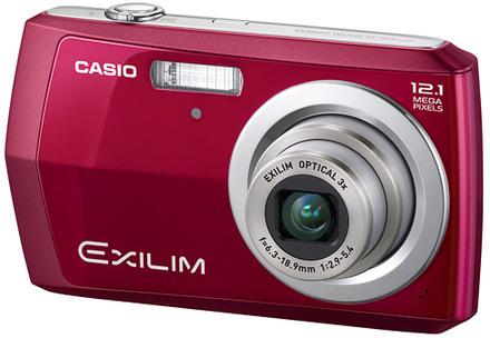 Casio EXILIM Z16 červený