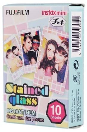Fujifilm Instax mini colorfilm Stained Glass