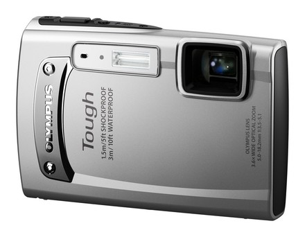 Olympus TG-310 stříbrný